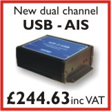 Click for more information on dual channel USB AIS receiver